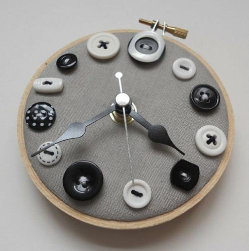 ایده هایی برای ساختن ساعت دیواری
