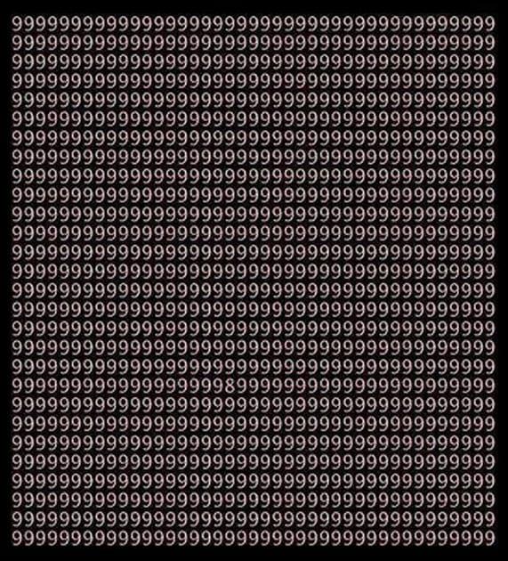 پیدا کنید 8 را...