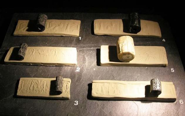 مهر های باستانی