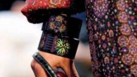 نقش فرش ایرانی بر جدید ترین مدل های لباس دنیا