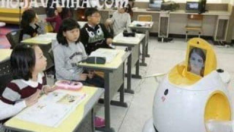 ربات معلم