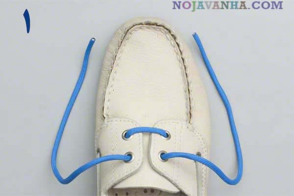 آموزش گره کفش (2)