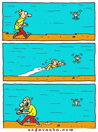 این دیگه خیلی نامردیه-کاریکاتور