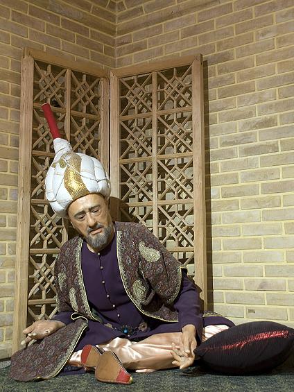 بابا فغانی-تاریخ -موزه