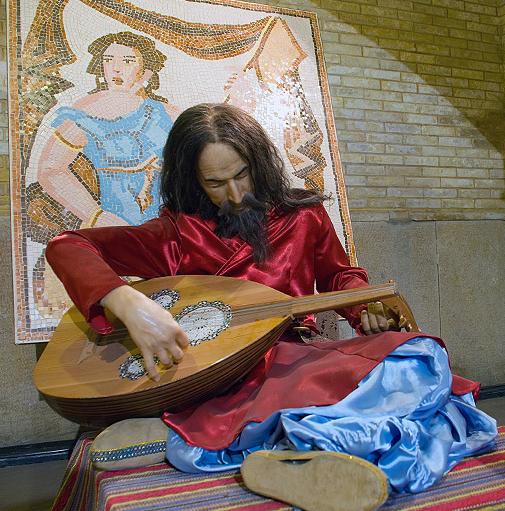 باربد-موزه -تاریخd