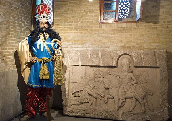 شاپور ساسانی- تاریخ -موزه