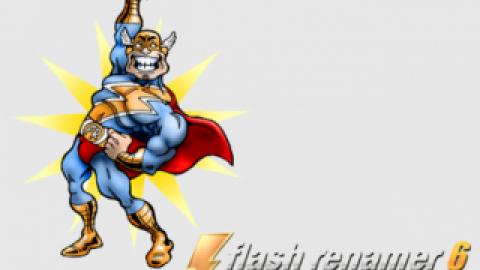 نرم افزار تغییر نام گروهی Flash Renamer