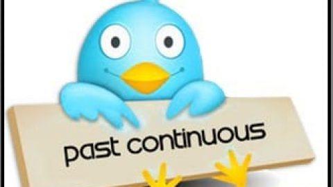 زمان گذشته استمراری یا past continuous