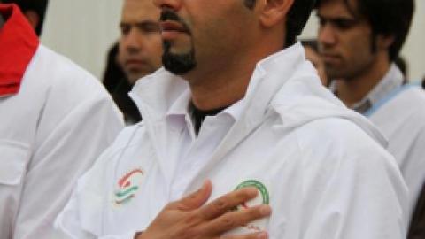 محمد حسین کُبادی شناگر بزرگ ایرانی
