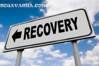 Economic recovery road sign-ریکاوری-کامپیوتر
