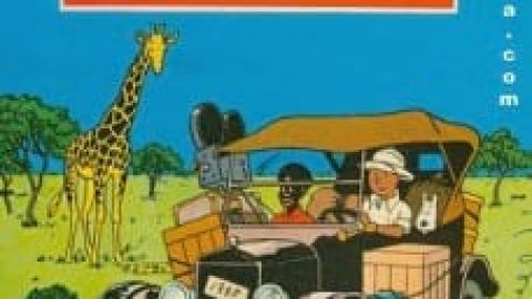 دانلود کتاب تن تن در کنگو