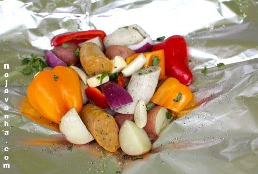 غذای اردویی؛ کباب اجاقی