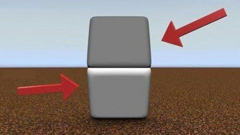 به نظر شما در تصویر زیر رنگ قسمت بالایی و پایینی چه تفاوتی با هم دارد؟