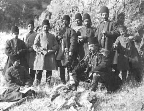 ناصرالدین شاه شکارچی