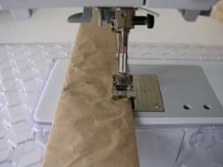 دوختن کاغذ برای سبد کاموا و جوراب