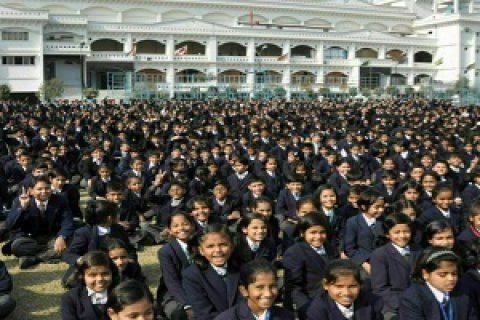 بزرگ ترین مدرسه جهان با ۴۵هزار دانش آموز!