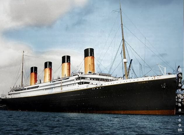 construction-of-the-titanic-تاریخ