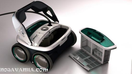 iRobot-Mirra-530-pool-cleaning-robot-رباتیک