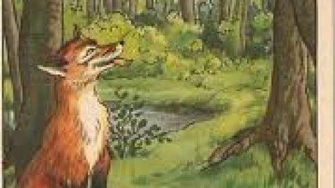 داستان کوتاه ؛کلاغ و روباه