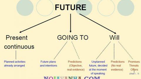 تفاوت های زمان آینده
