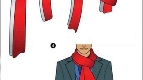 ۱۱ مدل بستن شال گردن زمستانی