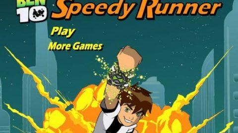 بازی دونده سریع Ben 10 Speedy Runner