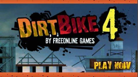 بازی جذاب موتور کراس  dirt bike 4