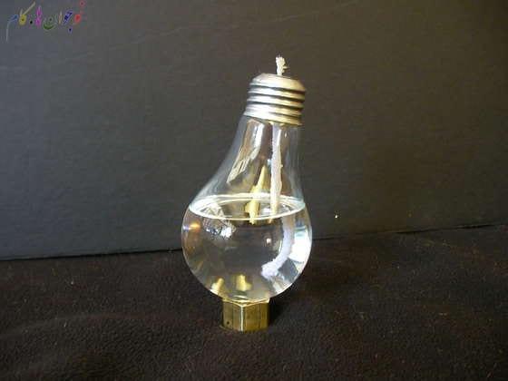 کاردستی با لامپ