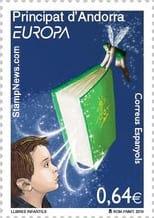 andorra-spanish-children-books-stamp