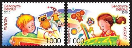 belarus-children-books-stamp