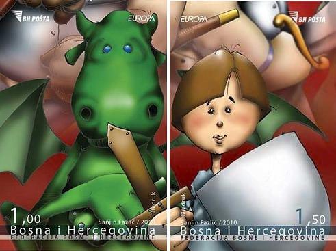 bosnia-and-herzegovina-children-books-stamp