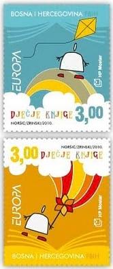 bosnia-and-herzegovina-croat-children-books-stamp