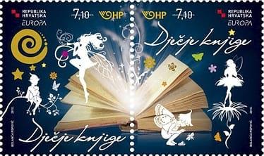 croatia-children-books-stamp