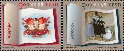 estonia-children-books-stamp