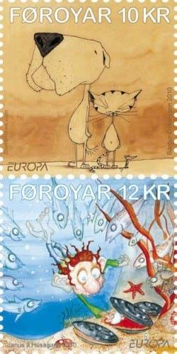 faroe-islands-children-books-stamp