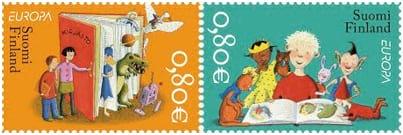 finland-children-books-stamp