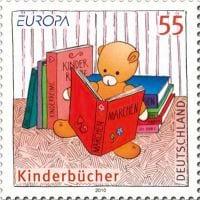 germany-children-books-stamp