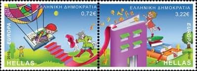 greece-children-books-stamp