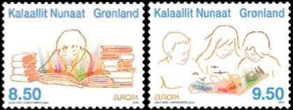 greenland-children-books-stamp