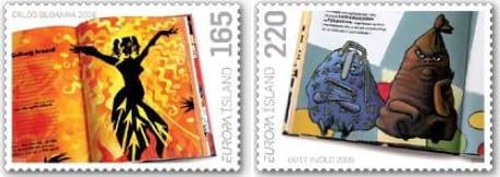 iceland-children-books-stamp