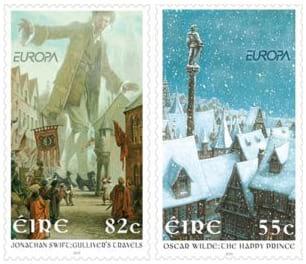 ireland-children-books-stamp