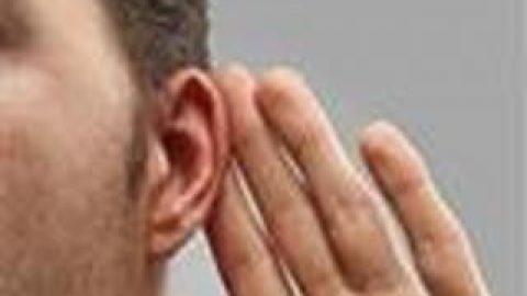 گوش چه کسی سنگین است؟