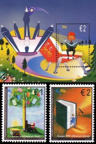 kosovo-children-books-stamp