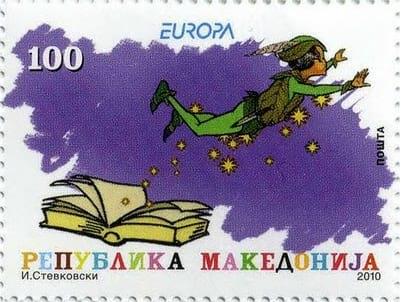 macedonia-children-books-stamp