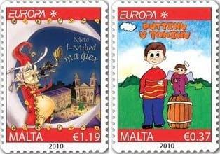 malta-children-books-stamp