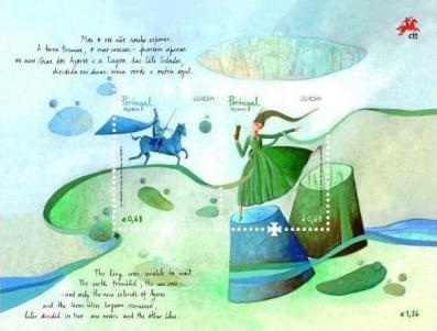 portugal-azores-children-books-stamp