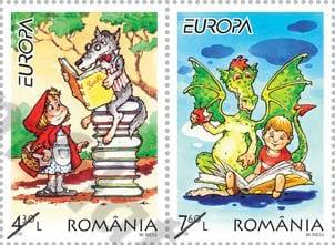 romania-children-books-stamp
