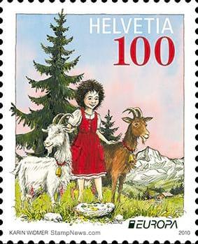 switzerland-children-books-stamp