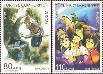 turkey-children-books-stamp