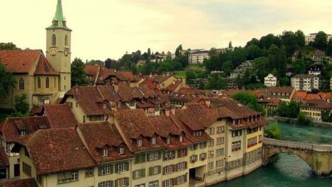 مناظر زیبای سوئیس